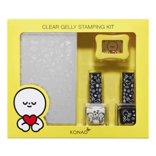 33_Stamping set-Clear Jelly Stamping Kit - Honeymoon