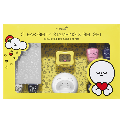 40_Clear Jelly Stamping & Gel Set